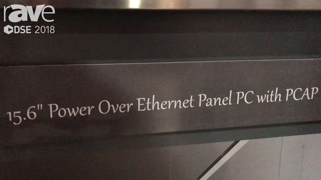 DSE 2018: Premio Shows Off 15.6″ Power Over Ethernet Panel PC With PCAP test