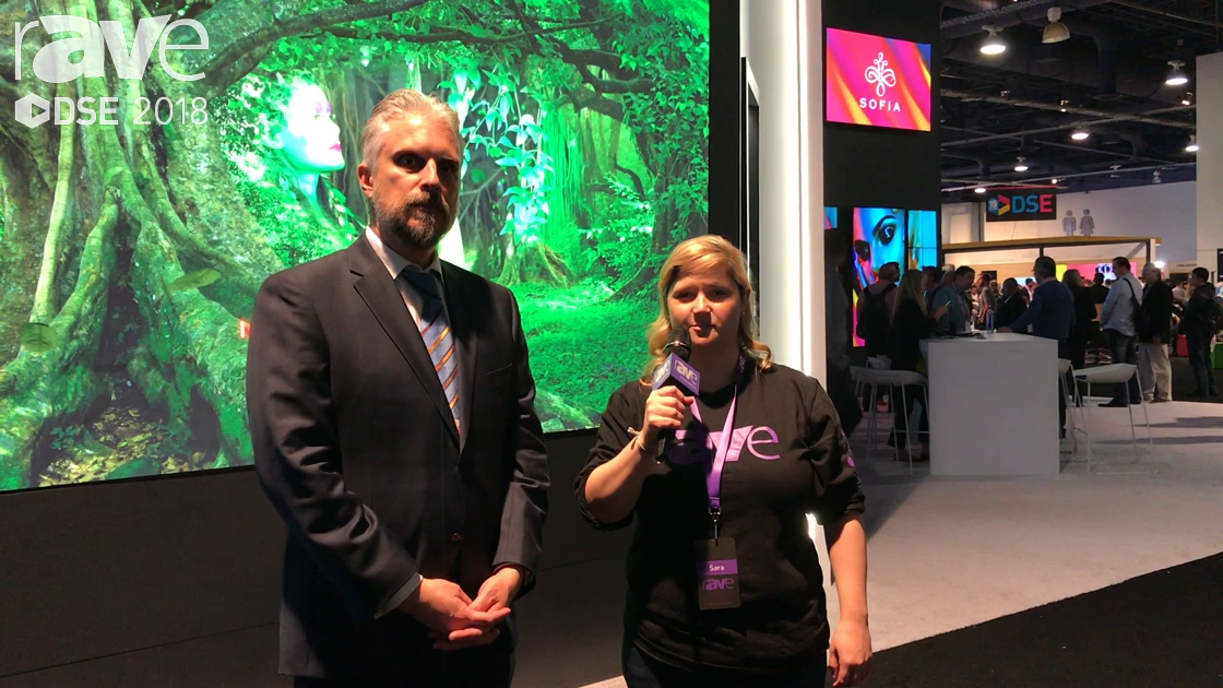 DSE 2018: Sara Abrons Tours the NEC Display Booth With Sr. Director of Product Marketing Keith Yanke