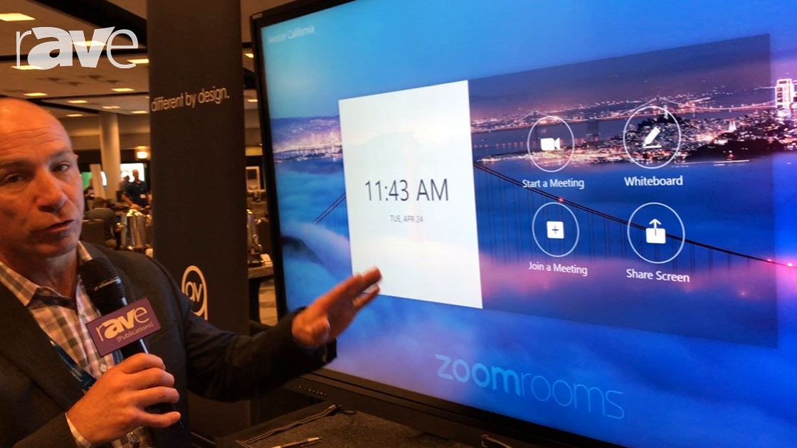 E4 AV Tour: Avocor Highlights Partnership With Zoom With Ability to Whiteboard and Share Screen