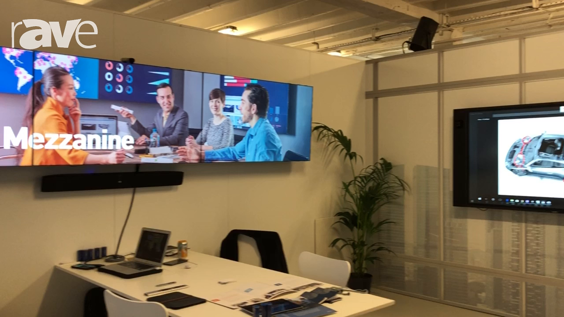 NEC Showcase: Oblong Demos Mezzanine, an Interactive Canvas and Board Room Collaboration Solution