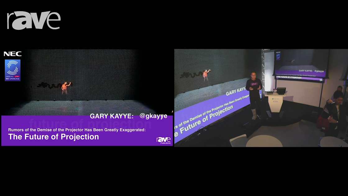 NEC Showcase: The Future of Projection by Gary Kayye – © 2018
