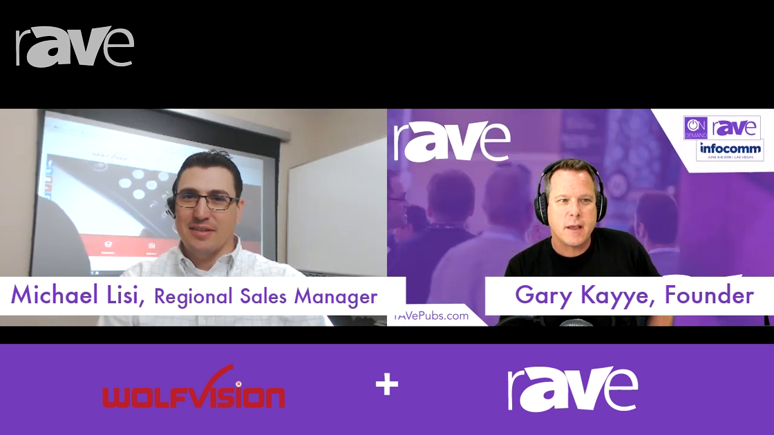 InfoComm 2018: WolfVision Talks CYNAP, vSolution MATRIX and Visualizers on Today's Videocast