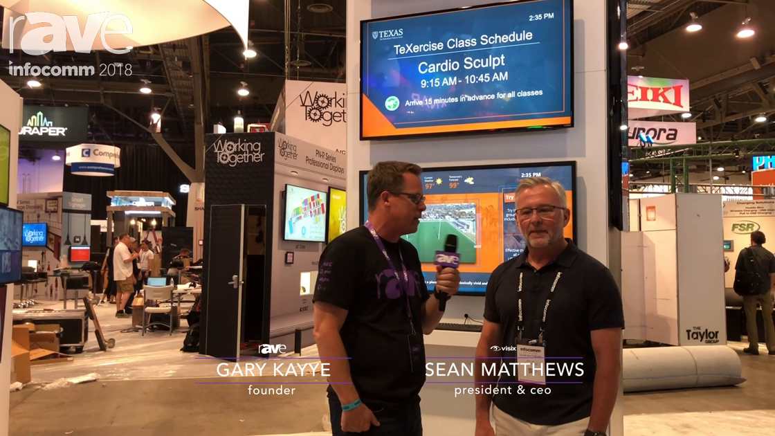 InfoComm 2018: Visix's Sean Matthews Talks with Gary Kayye About InfoComm Show Focus & AxisTV