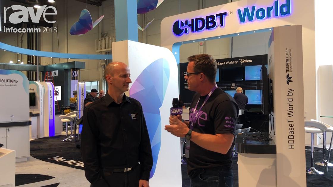 InfoComm 2018: HDBaseT's Daniel Shwartzberg Chats with Gary Kayye On The Alliance's Show Focus