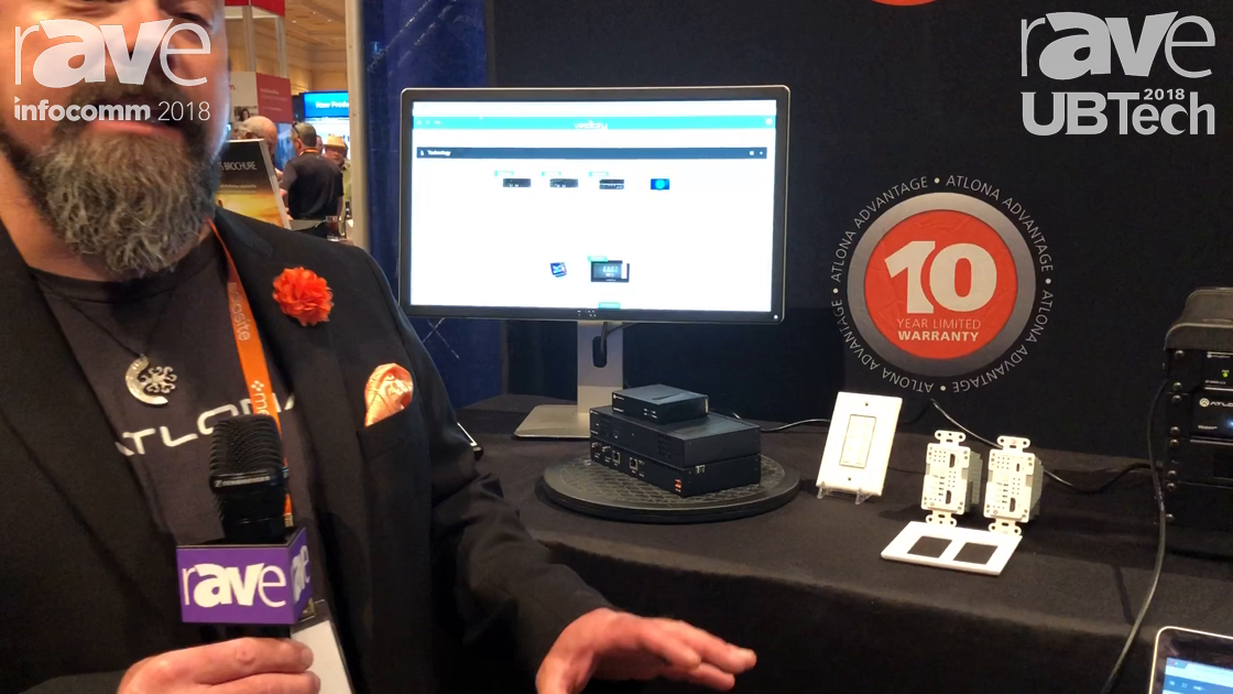 UBTech 2018: Atlona Features Its Velocity Control Platform for Programming-Free Control