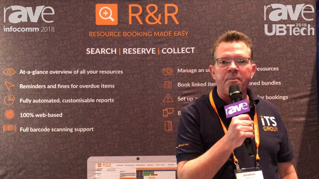 UBTech 2018: iTS Group Showcases Its RandR Resource and Room Booking Solution