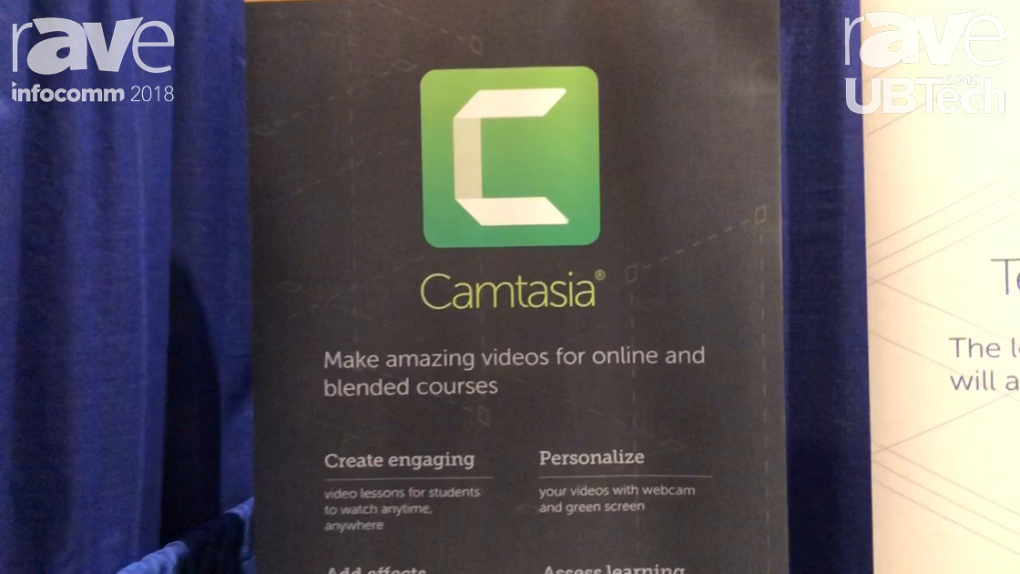 UBTech 2018: Techsmith Exhibits Camtasia, Online Video Creation Software for Making Education Videos