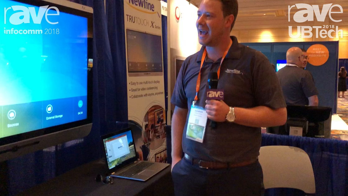 UBTech 2018: Newline Interactive Features Its TruTouch X Series of Conferencing Displays