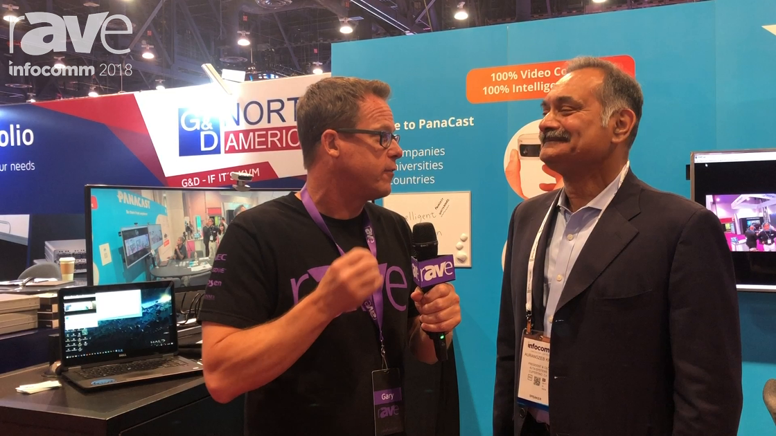 InfoComm 2018: Gary Kayye Interviews Altia Systems' Aurangzeb Khan