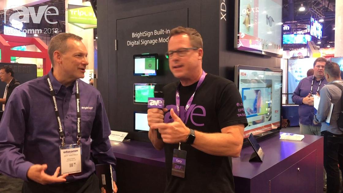 InfoComm 2018: Gary Kayye Interviews Brightsign CEO Jeff Hastings