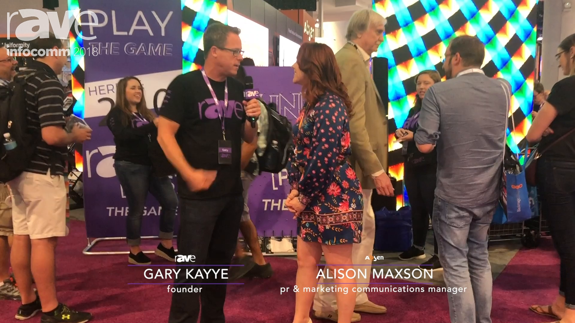 InfoComm 2018: Gary Kayye Interviews Absen Senior Marketing & Communications Manager Alison Maxson