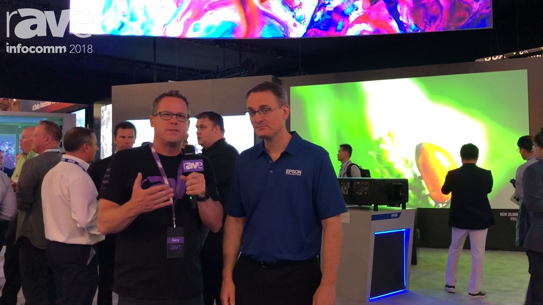 InfoComm 2018: Gary Kayye Interviews Richard Miller of EPSON