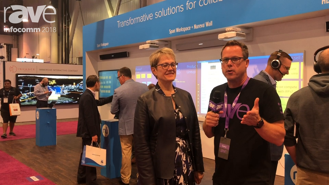 InfoComm 2018: Gary Kayye Interviews Nancy Knowlton, Founder of Nureva