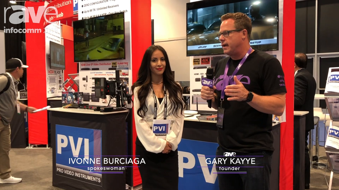 InfoComm 2018: Gary Kayye Interviews Ivonne Burciaga of Pro Video Instruments