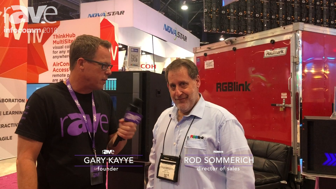 InfoComm 2018: Gary Kayye Interviews RGBLink Rod Sommerich, Director of Sales