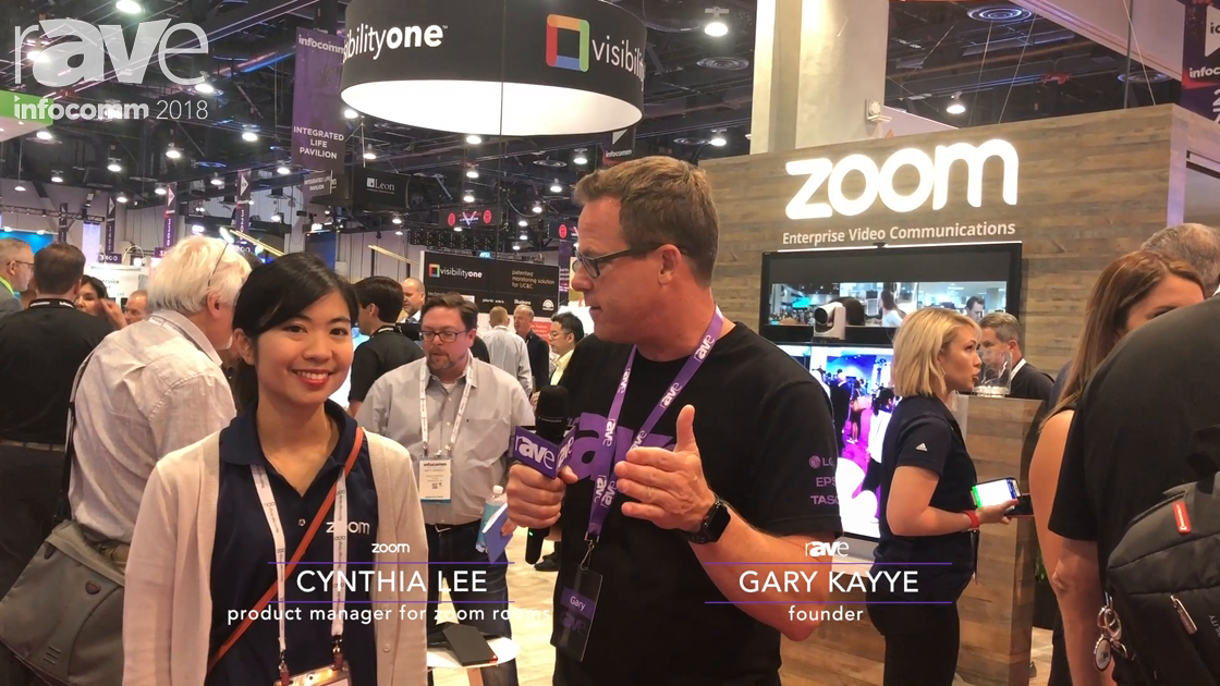InfoComm 2018: Gary Kayye Interviews Zoom's Cynthia Lee, Zoom Rooms Product Manager