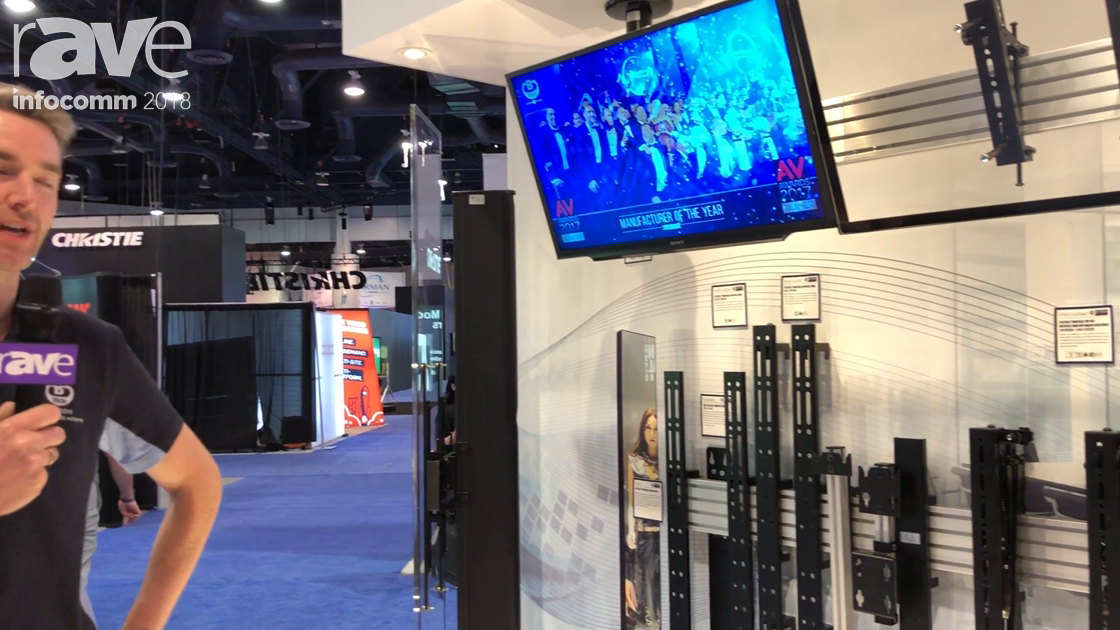 InfoComm 2018: B-Tech AV Mounts Showcases the System X Modular System for Mounting Video Walls