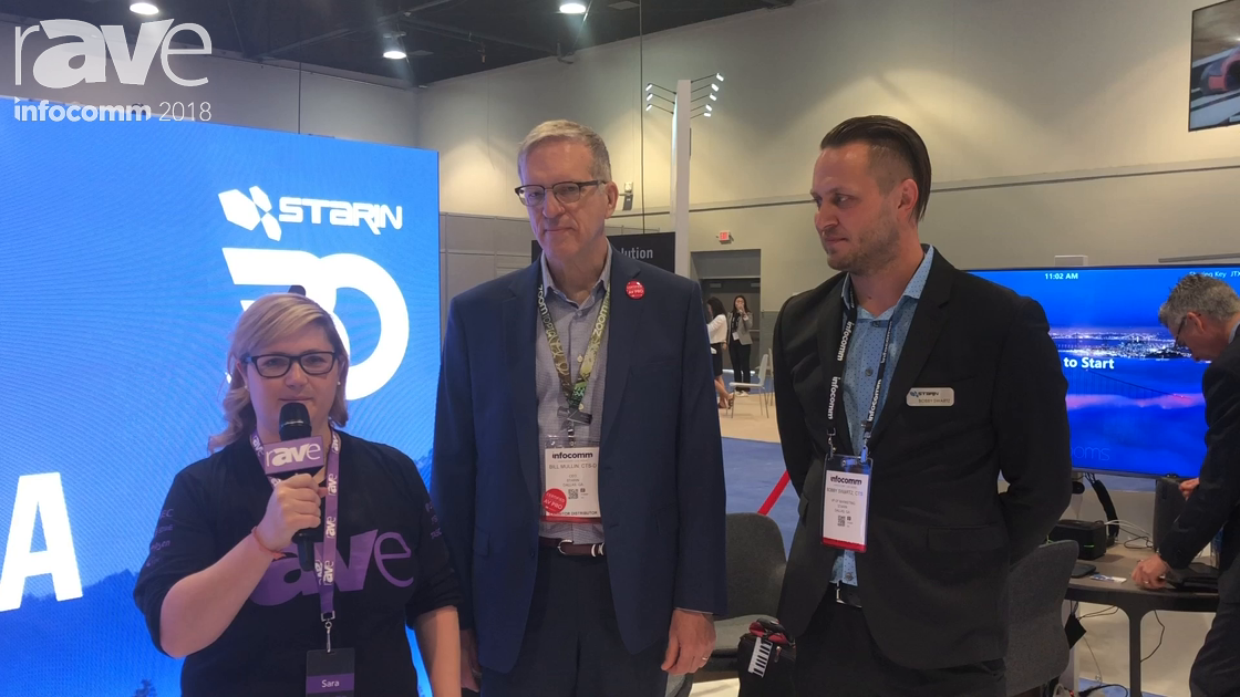 InfoComm 2018: Sara Abrons Interviews Bill Mullin and Bobby Swartz of Starin