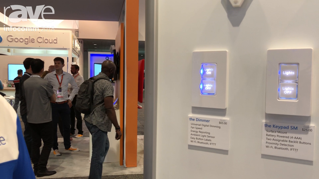 InfoComm 2018: Iminate Highlights the Dimmer In-Wall Switch for Dimming and Energy Monitoring