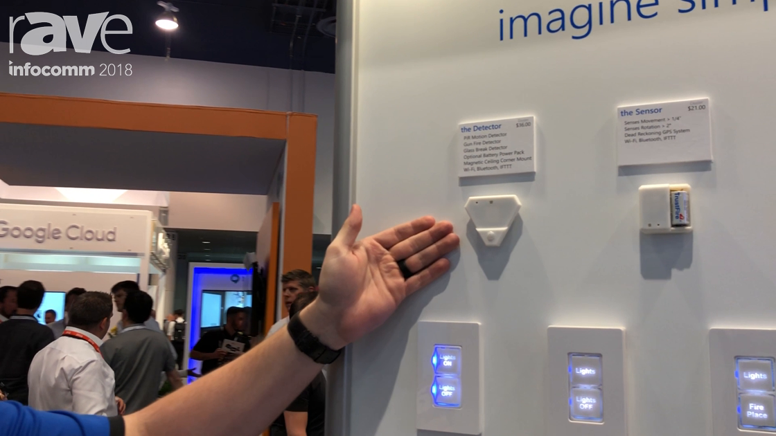 InfoComm 2018: Iminate Showcases the Detector for Gun Shot, Glass Breaking, Motion Detection