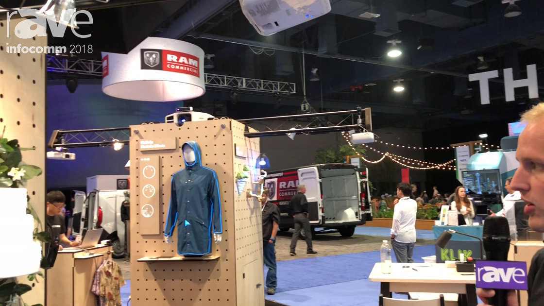 InfoComm 2018: Lightform Demos Projected Augmented Reality with Stock Videos and IOT Integration
