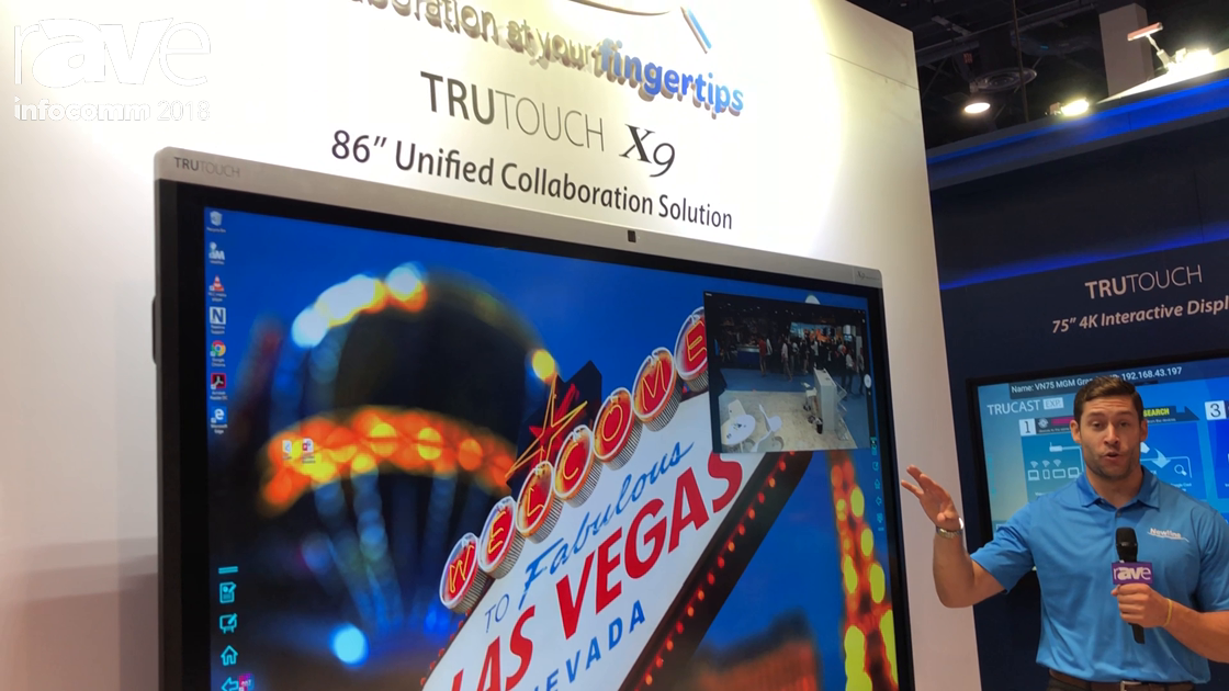 InfoComm 2018: Newline Interactive Features the X9 Interactive Flat Panel and Unified Collaboration
