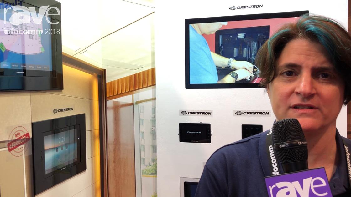 InfoComm 2018: Wall-Smart Highlights the Secured Retrofit Flush Mount for Crestron TSW-1060