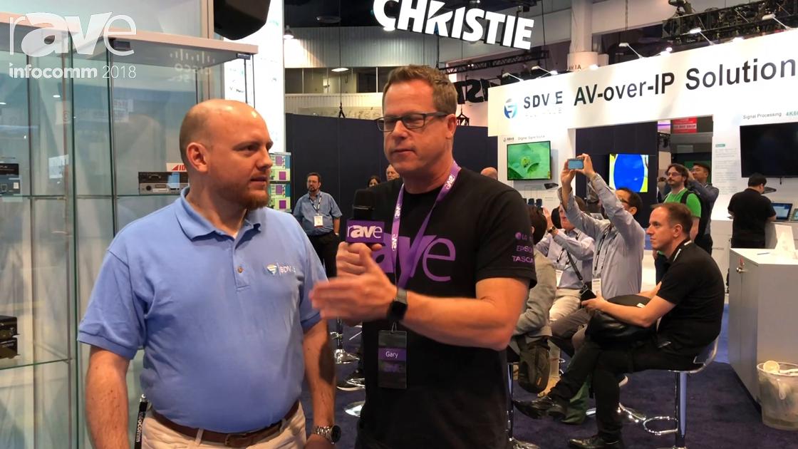 InfoComm 2018: Gary Kayye Interviews Justin Kennington, President of the SDVoE Alliance