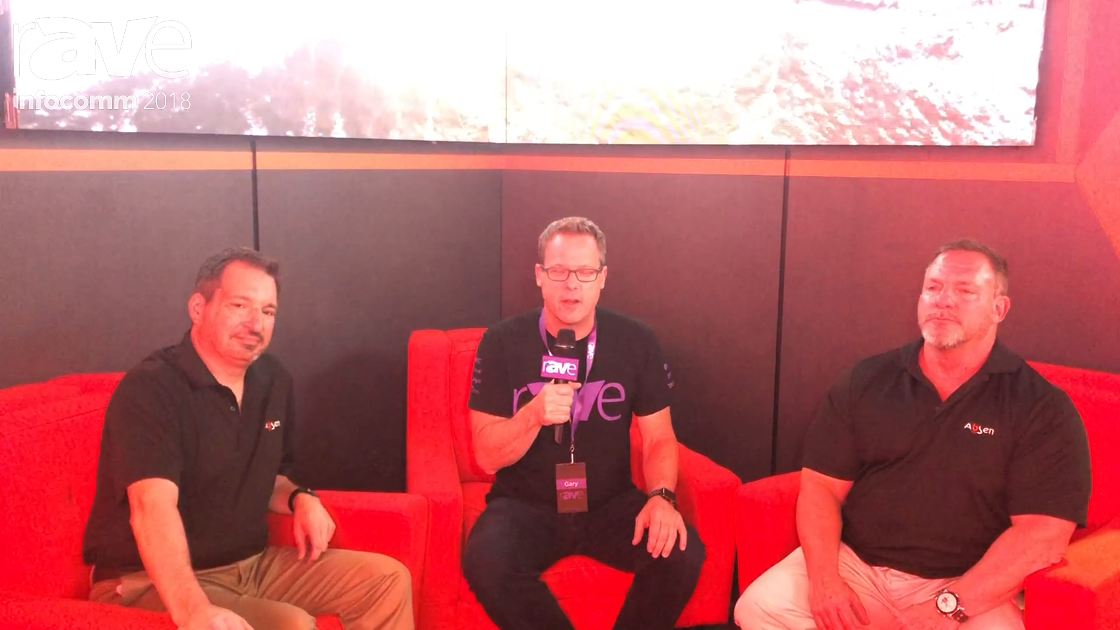 InfoComm 2018: Gary Kayye Interviews Chris Prosio and Mitchell Rosenberg of Absen
