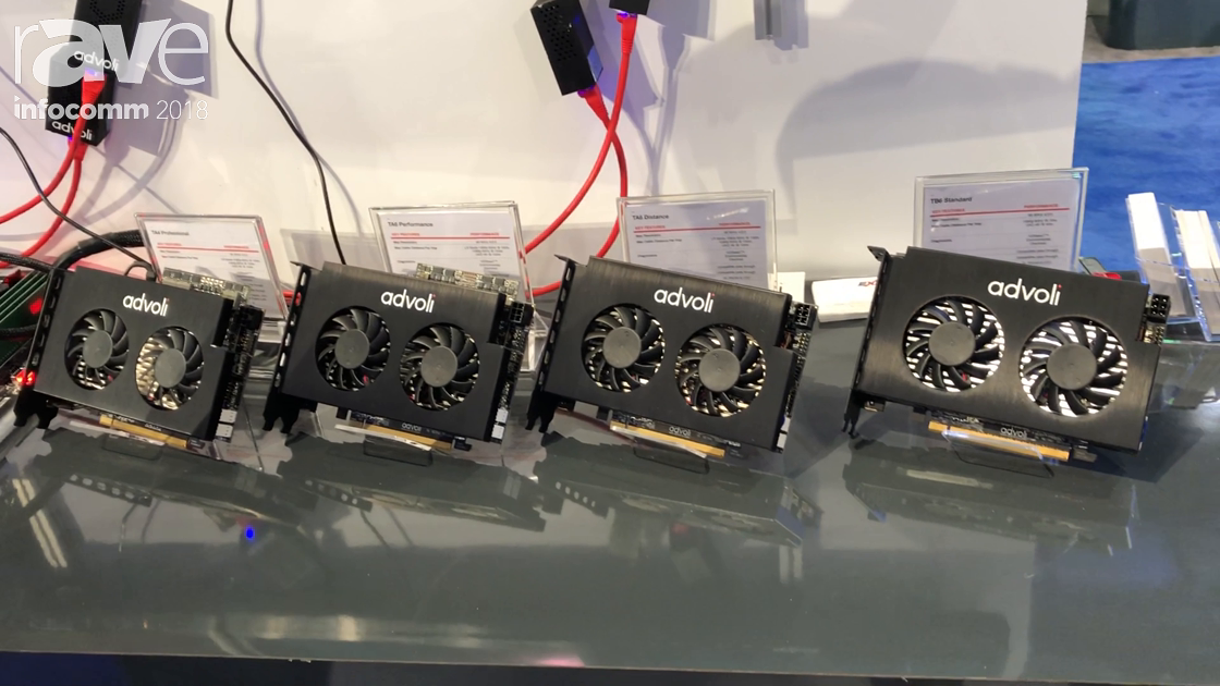 InfoComm 2018: advoli Features TA6 Distance and ND TB6 Standard Graphics Cards