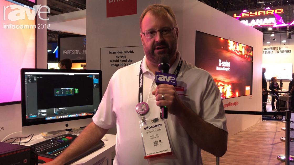 InfoComm 2018: Barco Features the S3 SA, S3 Tri Combo in Eventmaster