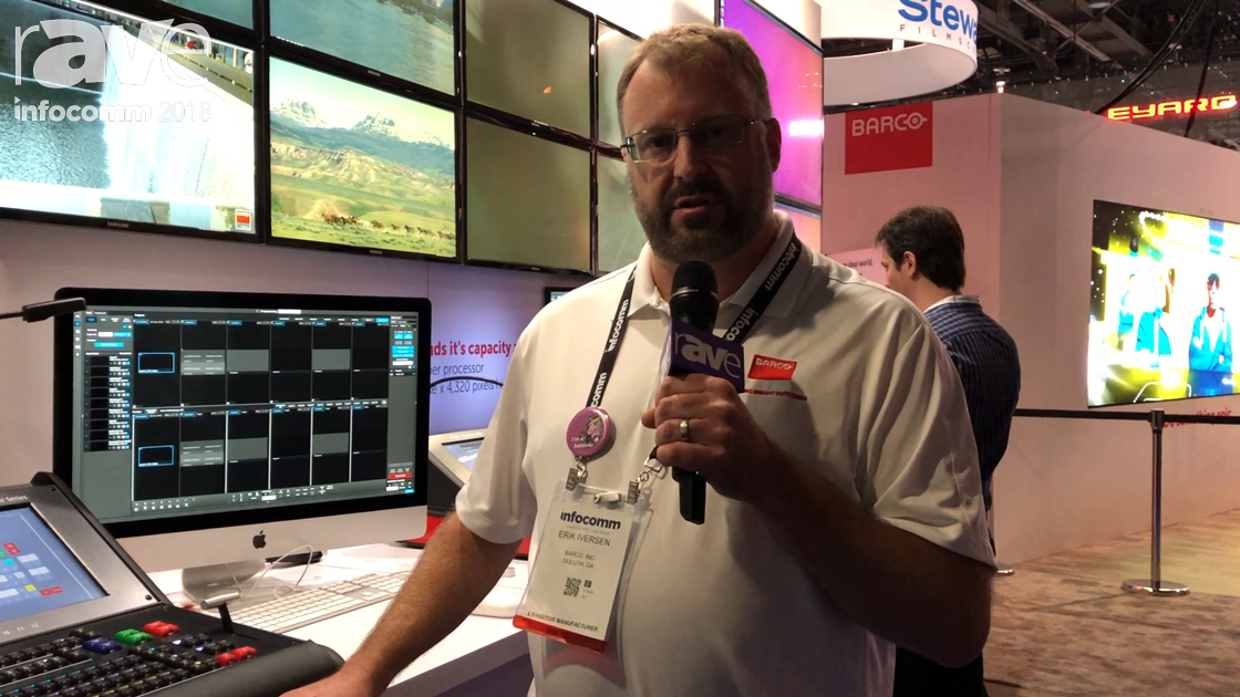 InfoComm 2018: Barco Highlights the E2 Tri Combo Configuration of Eventmaster