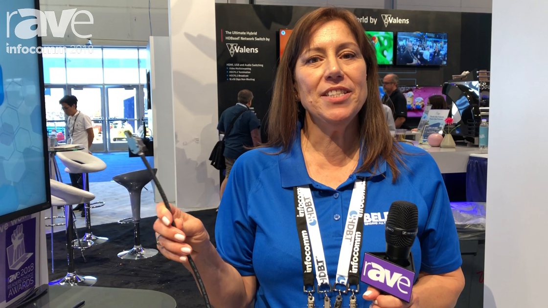 InfoComm 2018: Belden Talks About Its 4K HDBaseT Cables