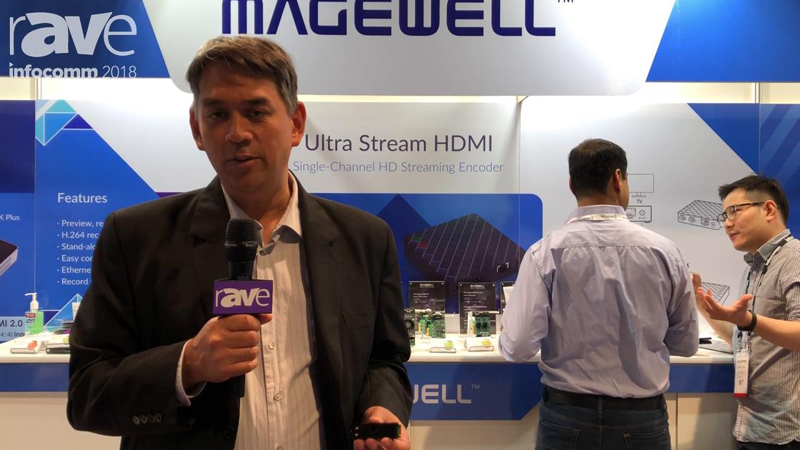 InfoComm 2018: Magewell Features the Eco Capture Quad SDI M.2 Ultra Compact Capture Hardware