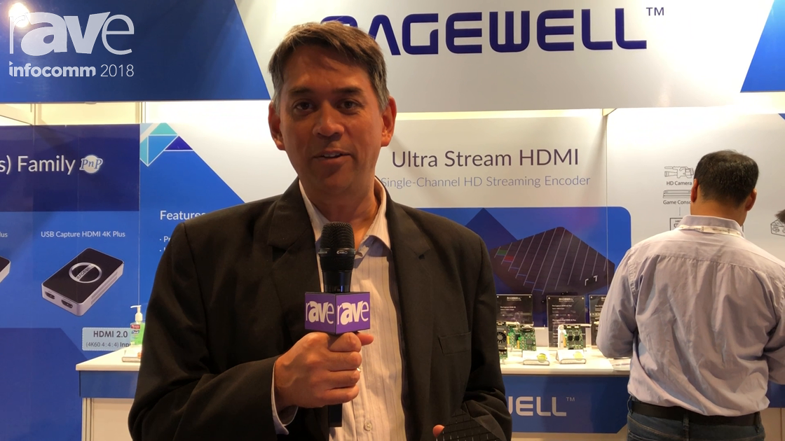 InfoComm 2018: Magewell Talks About Its Ultra Stream HDMI Single Channel HD Streaming Encoder