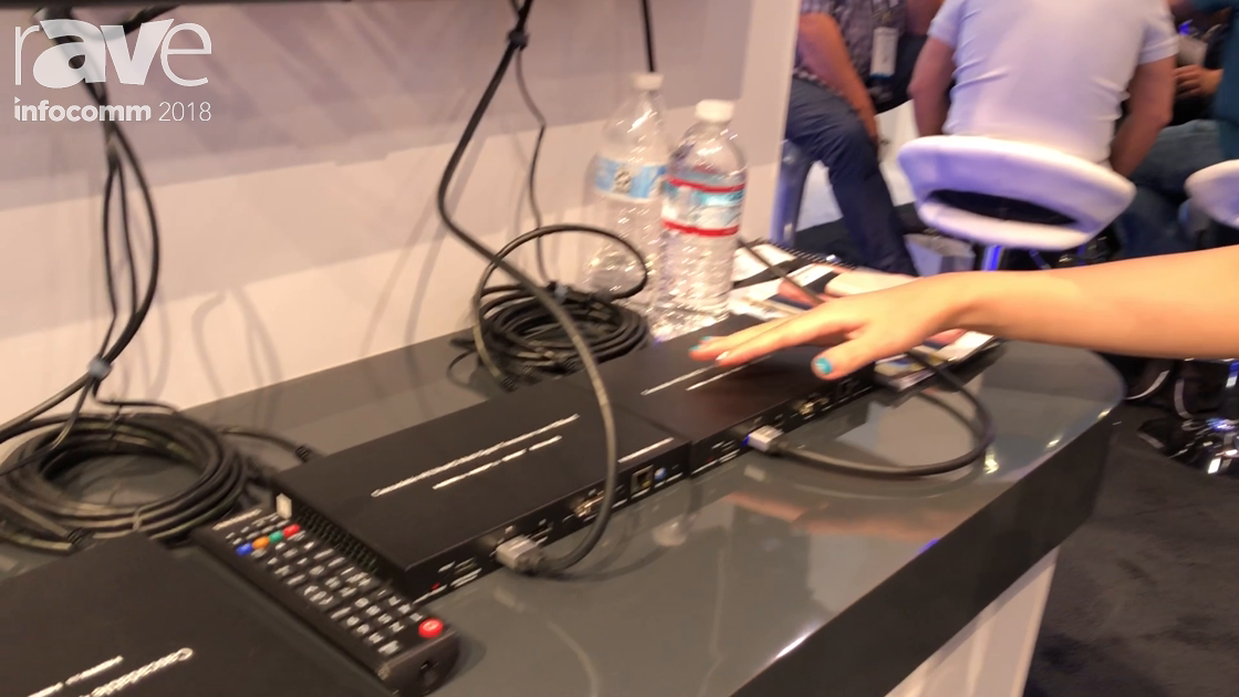 InfoComm 2018: Grandbeing Shows Off the Sandex HDBaseT Multi-Signal Transmitter and Receiver