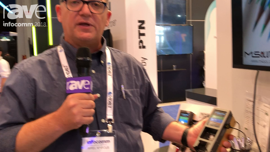 InfoComm 2018: MSolutions' MS Test Pro Is a New Battery-Powered HDBaseT Tester