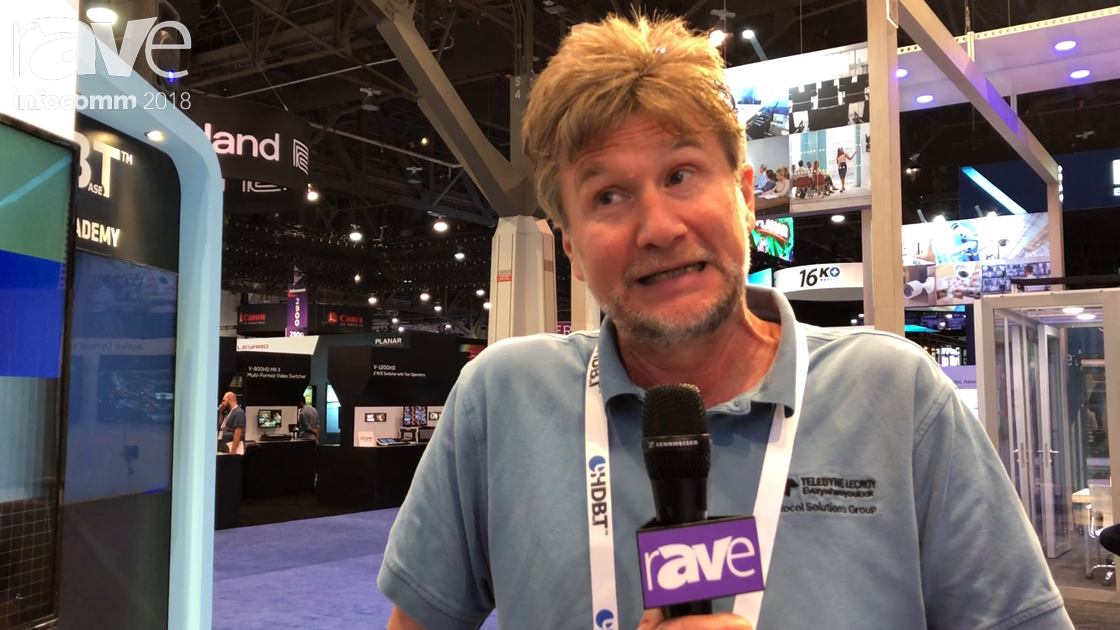 InfoComm 2018: Teledyne Lecroy Shows the Quantum Datan280G Video Generator and 280A Video Analyzer