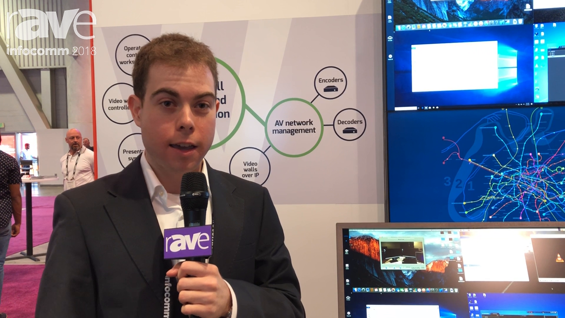InfoComm 2018: VuWall Demos Its VuStation KVM Personal Video Wall Solution