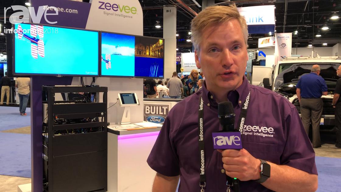 InfoComm 2018: ZeeVee Features the ZyPer 4K Multiview Solution