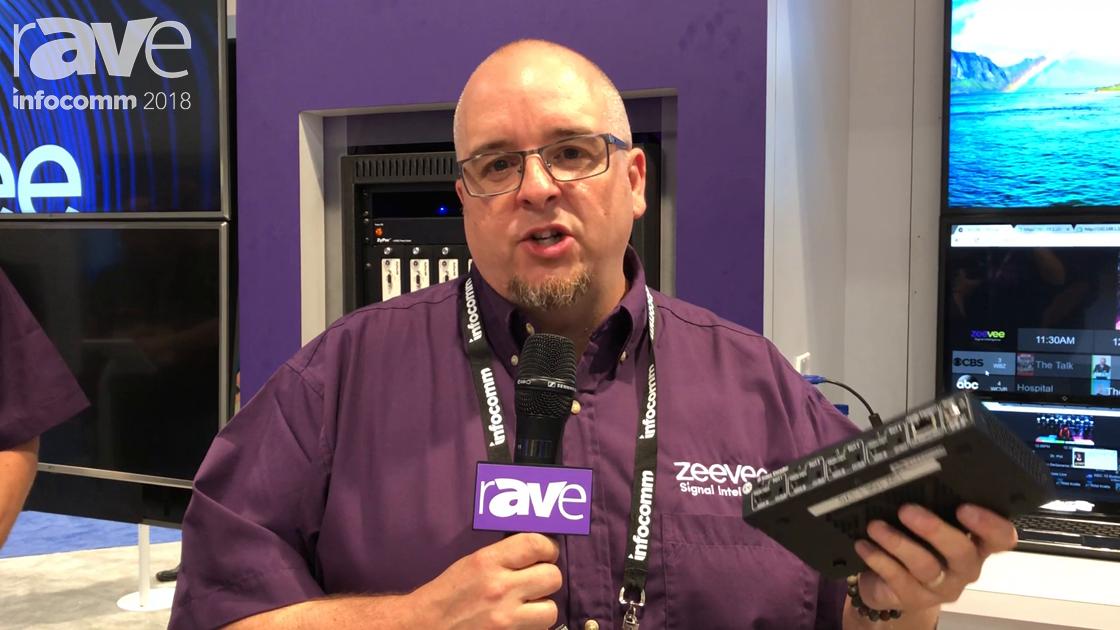 InfoComm 2018: ZeeVee Showcases the ZyPer MX4 Quad Channel M.264 Encoder