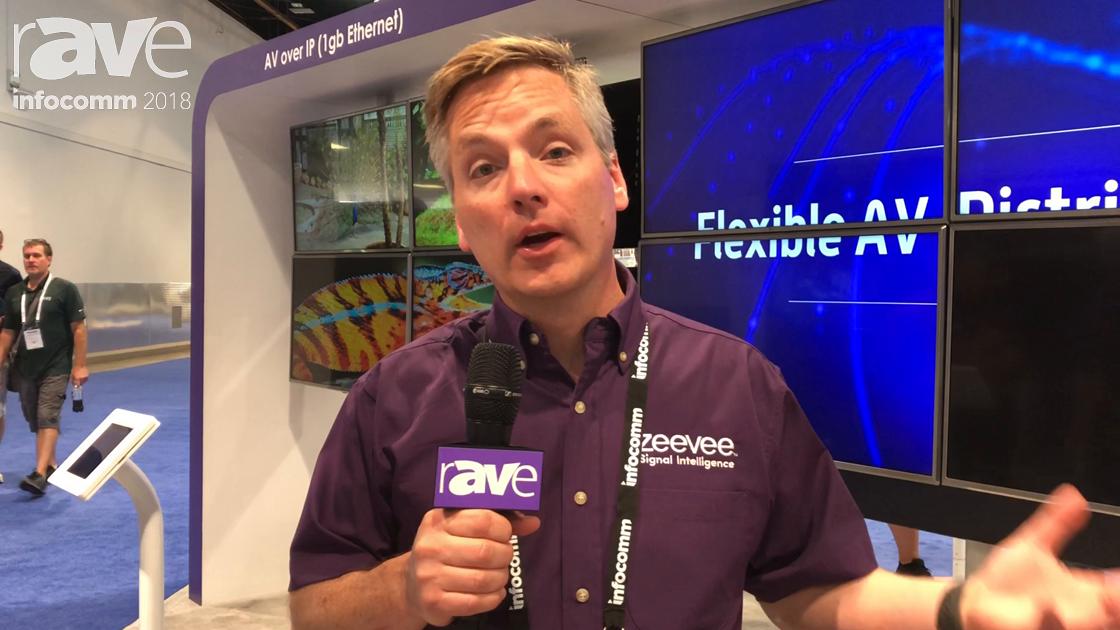 InfoComm 2018: ZeeVee Highlights the Flexibility of Its AV Over IP Solutions