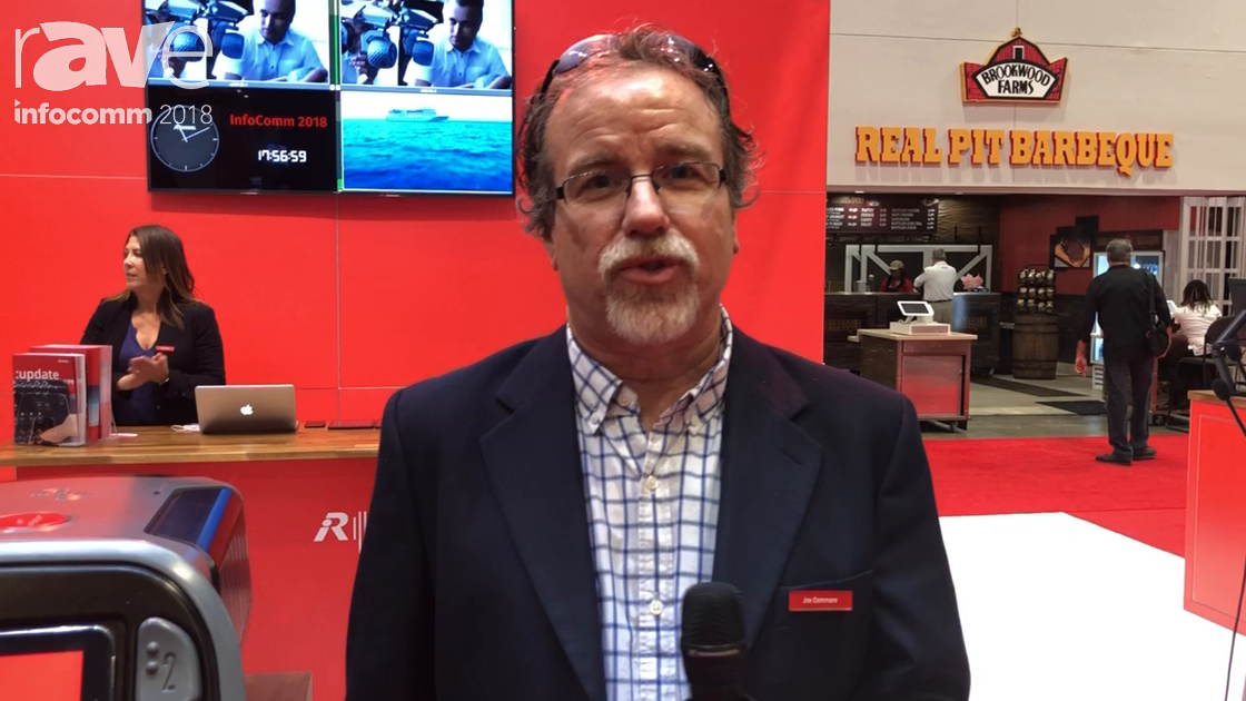 InfoComm 2018: Riedel Communications Shows Bolero, an Ergonomic Wireless Communication System