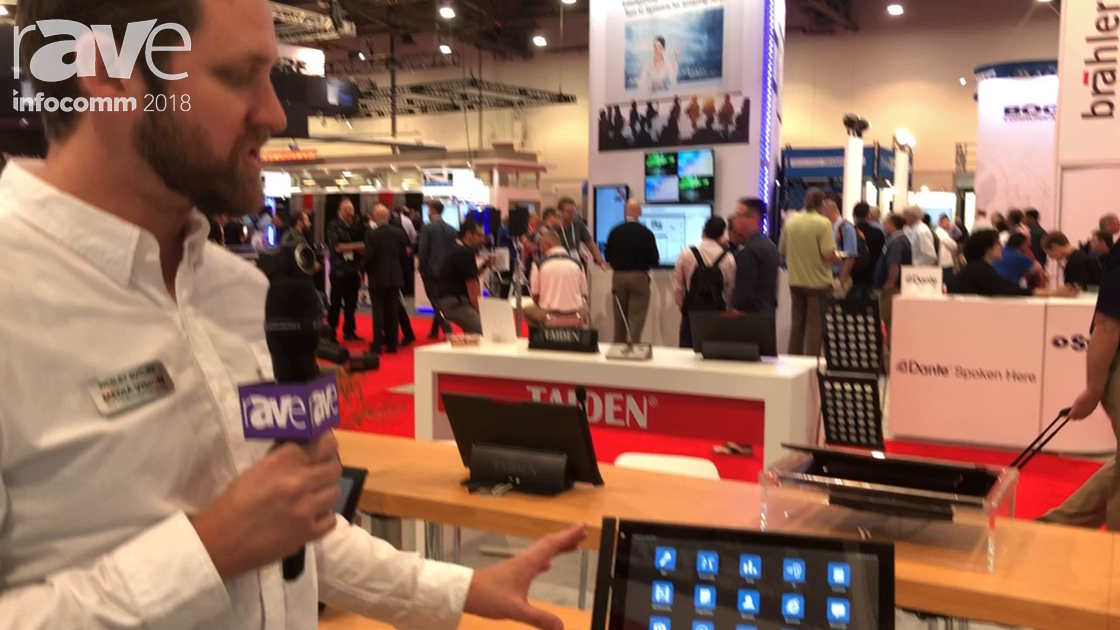 InfoComm 2018: TAIDEN Features the G3 Multimedia Terminal Touch Screen