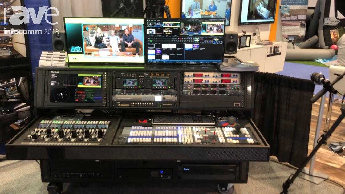 InfoComm 2018: TV Pro Gear Features Its 3 Wide IP 4K Flypack