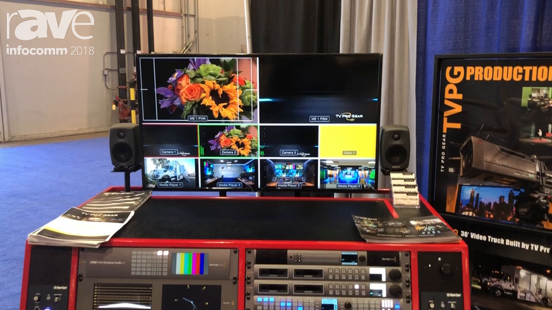 InfoComm 2018: TV Pro Gear Showcases Its 2 Wide Flypack, a 4k 12G System