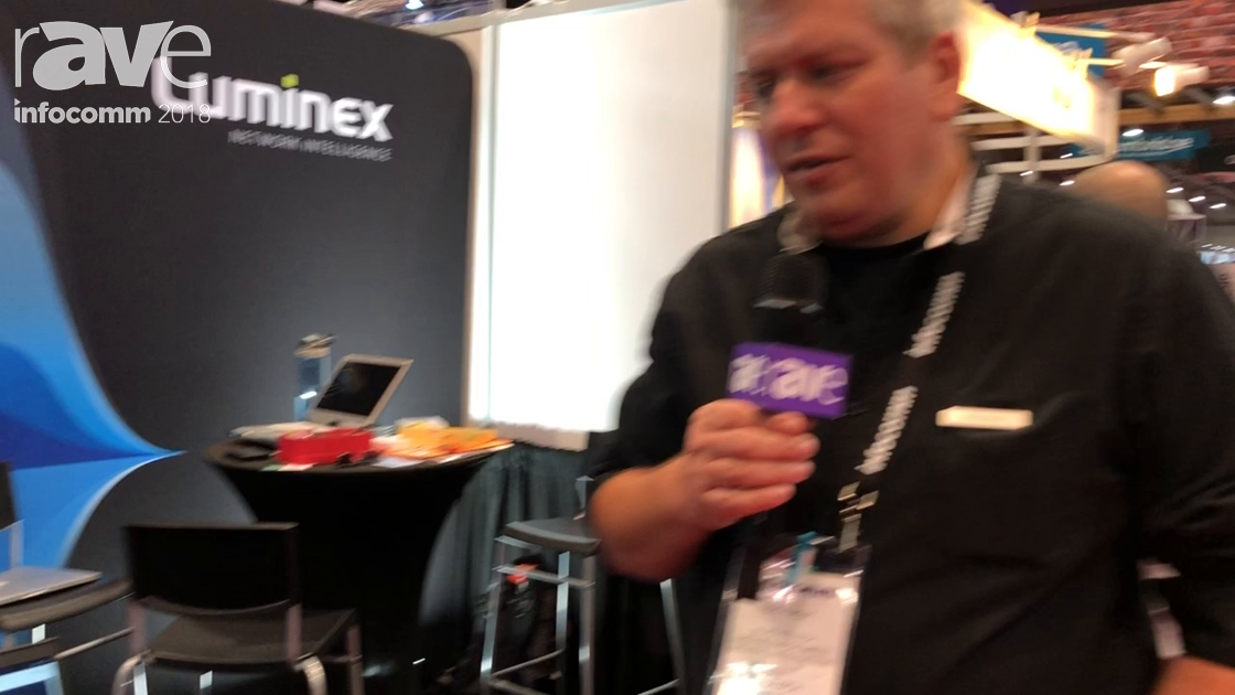 InfoComm 2018: Luminex Intros AVB Firmware for Gigacore Network Switches, Milan Applications Layer