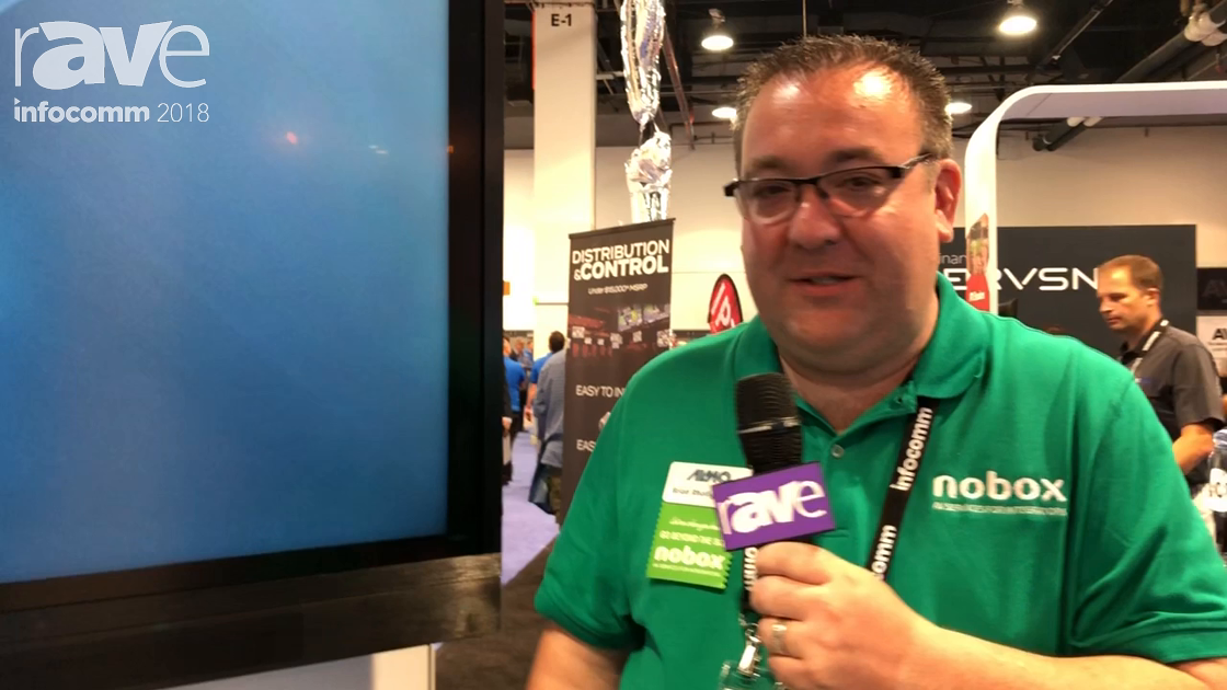 InfoComm 2018: Almo Pro A/V Demos the Avocor F2 Series Touch Display