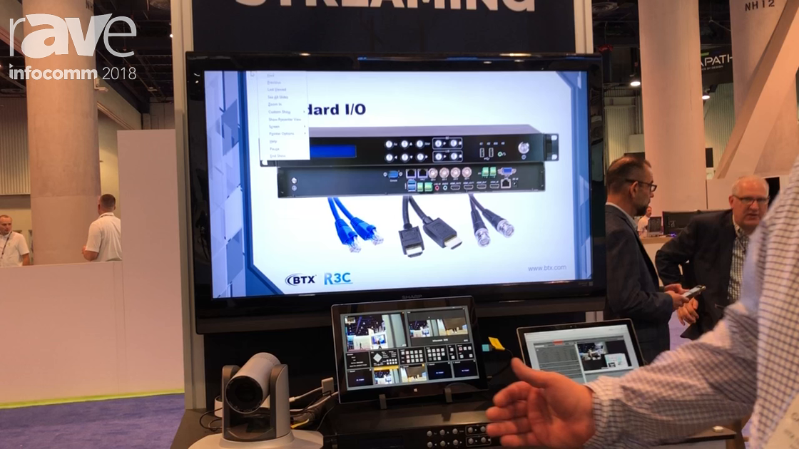 InfoComm 2018: BTX Intros RC3 Streaming Media Mixer That Captures and Records Each Individual Source
