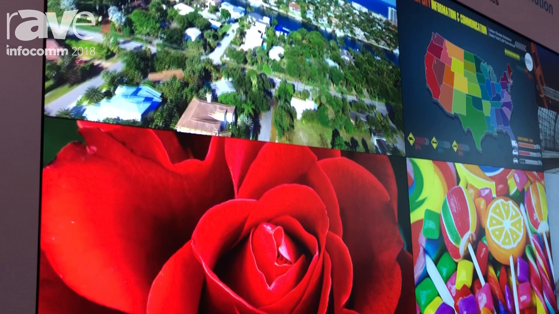 InfoComm 2018: Delta Electronics Shows Off DLP Laser Video Wall With 70-Inch Rear Projection Cubes